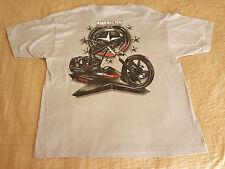 American Chopper Comanche T Shirt EUC sz XL Gray New York Paul Teutle, Sr, Mikey