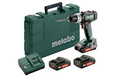 Metabo Sb 18 L Drill Driver Percussion 3 Battery 18V from 2Ah Pair 50Nm