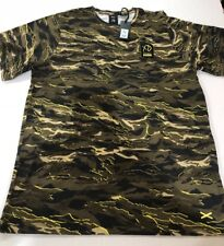 NWT PUMA x XO The Weeknd Men's T-Shirt Camo Military TL34123 US SZ LARGE $65
