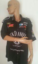 Chemise Chemisette Jack Daniel's Taille M Brodée Devant & Dos