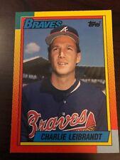 1990 Topps Traded Charlie Leibrandt Atlanta Braves 60T