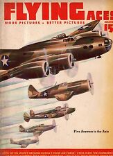 1942 Flying Aces December Pulp - Manchester; Women in Aviation; Van Auken Ace