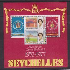 QEII 1977 Silver Jubilee MNH Stamp Sheet Seychelles SG MS401