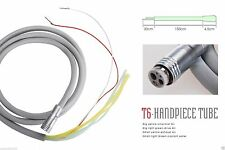 Replace Silicone Cable Hose/Tubing/Tube 6 Hole for Dental High Speed Handpiece