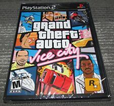 Grand Theft Auto: Vice City Playstation 2 Ps2 Brand New! Fast Shipping!