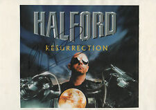 "Rob Halford ""Judas Priest"" autógrafo signed revista-imagen en papel a4"