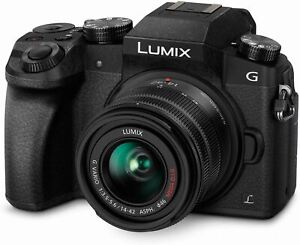 Panasonic LUMIX G7 4K Digital Camera, with LUMIX G VARIO 14-42mm Mega O.I.S. Len