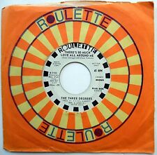 THREE DEGREES 45 There's So Much Love All Around Me PROMO Soul 1971 w1461