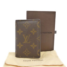 Authentic LOUIS VUITTON Pocket Organiser Card Case Monogram M60502 #S203066