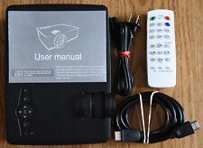 VicTsing LCD Mini Portable HD 1080P Multimedia-Input LED Movie/Gaming Projector!