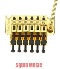 Floyd Rose Original Gold Tremolo System Complete With Nut - NEW German Made