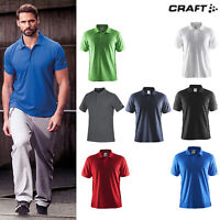 Craft Pique Classic Polo T-shirt (192466) - Casual Fold Down Collar