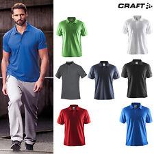 Craft Pique Classic Polo T-shirt (192466) - Casual Fold Down Collar