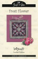 Just Nan FROST FLOWER Whimzi Limited Edition Pattern Chart Only JNWLFF