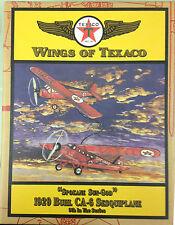 Spokane Sun-God  1929 Buhl CA-6 Sesquiplane Wings of Texaco 9th in series Ertl