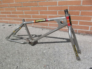 """1980 Mongoose Team Supergoose 7/8"""" fork nickel plated very early full cro mo"""
