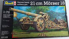 Revell 03169 Modellbausatz ,,German Gun 21cm Mörser 18,, 1:72 **NEU**