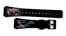 CASIO ORIGINAL WATCH BAND:  70612474 W-73 Black Resin Band Lug Size 19mm
