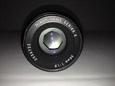 NIKON Series E 50mm 1:1.8 Pancake Nikon 50mm 1.8 F Mount Prime Lens