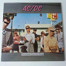 AC/DC - Dirty Deeds Done Dirt Cheap - Vinyl LP Original Europe Press NM/NM