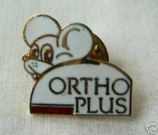 Mouse pin badge Ortho plus France enamel