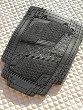 Pour s'adapter à un ford puma voiture, gris en caoutchouc/tapis, quadri sports - 4 pièces