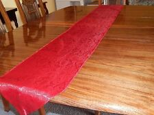 Table Runners-Red