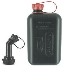 FUELFRIEND-BIG 2 Liter Benzinkanister Reservekanister + 1 Füllrohr verschließbar