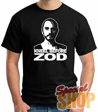 CAMISETA SUPERMAN-KNEEL BEFORE ZOD  T-SHIRT CHICO/A/TIRANTES/ NIÑO
