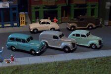 3 Old Era Automobile Cars 40s 50s era N Scale Vehicles