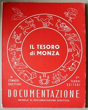 Documentazione - Il tesoro di Monza - ottobre 1959 - comassi - fabbri