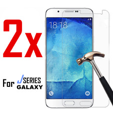 2X Tempered Glass Screen Protector Film for Samsung Galaxy J6 Plus