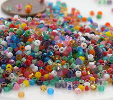 TINY BEADS 11/0 Matsuno Assorted Colors Glass Seed Beads 10-Grams