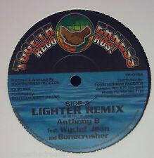 "ANTHONY B feat WYCLEF JEAN & BONECRUSHER ~ Lighter Remix ~ 12"" Single USA PRESS"