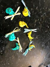 Amazing Ally Slumber Hair Clips Lot Duck Moon Doll
