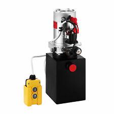 Hydraulic Pump DC12V 4 Quart Single Acting for Dump Trailers Power Supply