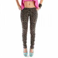 Khaki Leggings Leopard XS M Abbey Dawn Hipsters