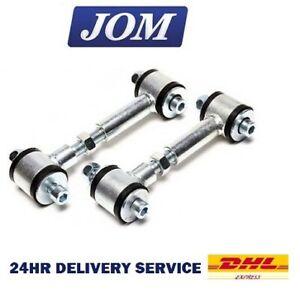 2 x Anti Roll Bar ADJUSTABLE Drop Links VW Bora 1998-2004 (A4) (Exc. 4motion)