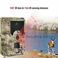 Scouting Wildlife 12MP 1080P Hunting Camera Infrared Trail Camcorder Waterproof