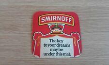 Smirnoff Vodka Beermat - 1970's