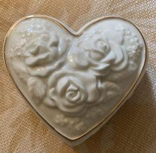 San Francisco Music Box Company Heart �� Shaped Trinket Box With Music🎼