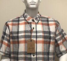 Weatherproof Vintage 1948 Men's Shirt Short Sleeve Button Men's Size XL NEW