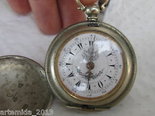 VERY RARE  Military POCKET WATCH for OTTOMAN Empire Hunter Case  Not Working!