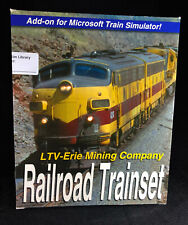 LTV-Erie Mining Company Railroad Trainset Add-on for Microsoft Train Simulator