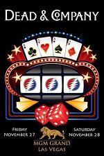 Dead & Company Poster MGM Grand Las Vegas November 27/28 2015 Grateful Dead