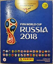 Panini 2018 FIFA Russia World Cup Stickers Collection Full Album Russian edition