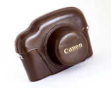 CANON LEATHER CASE FOR CANON VI-T - EXCELLENT!