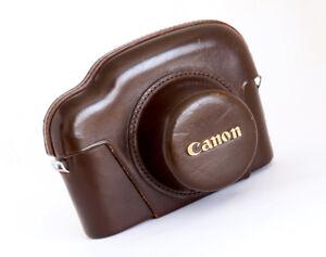 CANON LEATHER CASE FOR CANON VI-T - EXCELLENT!