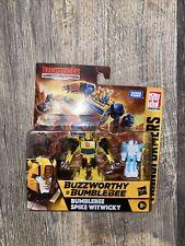 Transformers War for Cybertron BUZZWORTHY Bumblebee & Spike Witwicky