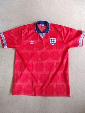 Umbro England Football Shirt Italia 90 World Cup away original Lineker